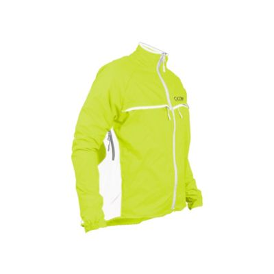 Rompeviento Impermeable para Mujer Sport Verde Talla S