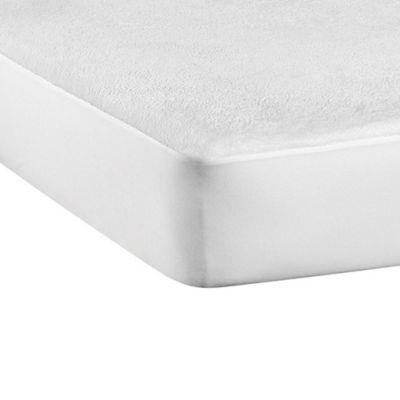 Protector de Colchón Antifluido Tipo Toalla Sencillo 100x190cm