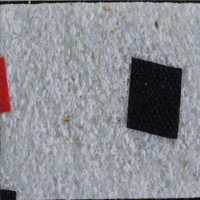 Recubrimiento Decorativo de Pared Naturel 4,5M2 Blanco-Negro-Rojo