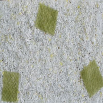 Recubrimiento Decorativo de Pared Naturel 4,5M2 Blanco-Verde