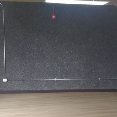 Recubrimiento Decorativo de Pared Efekt 4,5M2 Negro