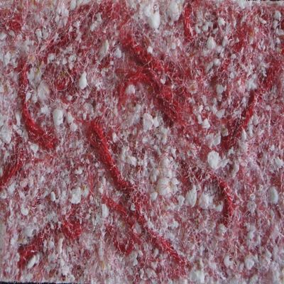 Recubrimiento Decorativo de Pared Nostalji 4,5M2 Rojo