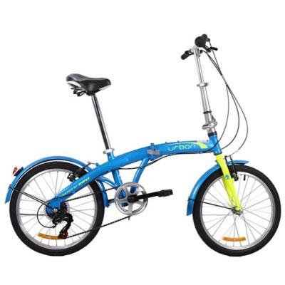 Bicicleta Plegable Rin 20 Pulgadas Express Azul