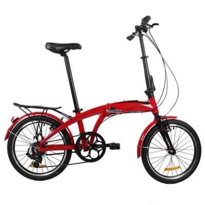 Bicicleta Plegable U8 Rin 20 Pulgadas Rojo