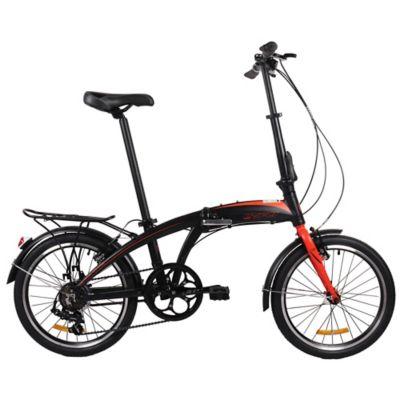 Bicicleta Plegable U8 Rin 20 Pulgadas Negro