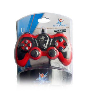 Game Pad Star TecSt-Gp-16 USB Rojo