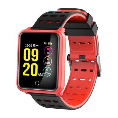 Smartwatch Plus D8 Negro Naranja