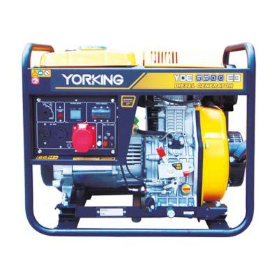 Planta Eléctrica Abierta  6,5 Kva  Trifásica, Diesel 3600 Rpm Tablero Análogo