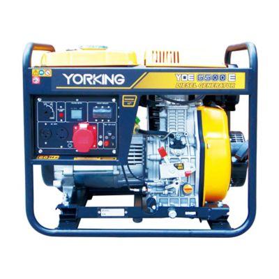Planta Eléctrica Abierta  5,5 Kva  Bifásica, Diesel 3600 Rpm Tablero Análogo