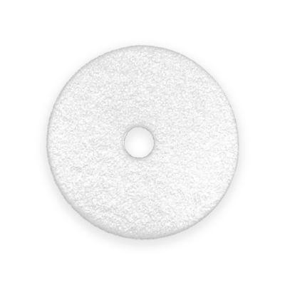 Disco de Limpieza Pads 17 Pulgadas Blanco