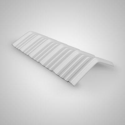 Caballete Klar Blanco 0.40x1.13m 2mm UPVC