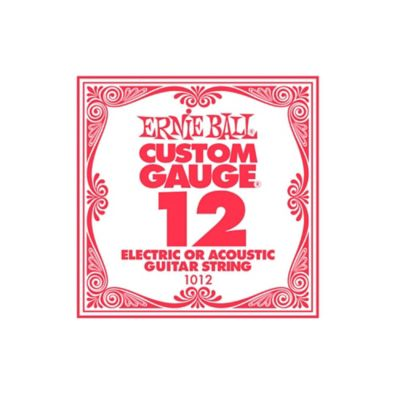 Cuerda 1012 Guitarra Eléctrica Custom Gauge