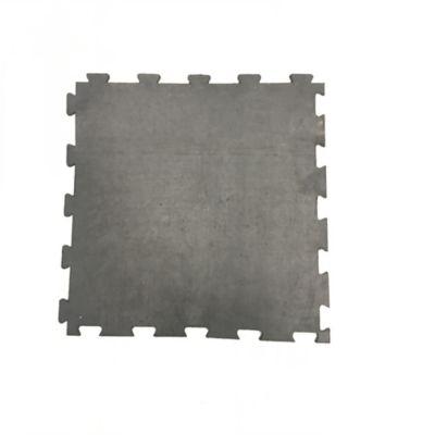 Tapete de Caucho Liviano Liso 50x50cm Tráfico Pesado Negro x 16 Unidades