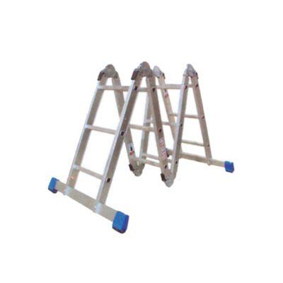 Escalera Multipropósito 3.53mt 12 Pasos Aluminio 150Kg