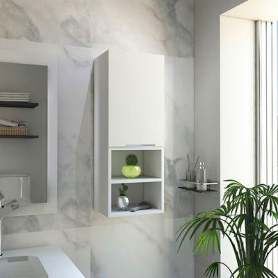 Mueble Auxiliar de Baño Jules 80cm Alto x 30cm Ancho x 25cm Profundidad cm Blanco