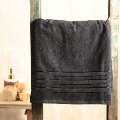 Toalla Cuerpo 70x150 500 gr Donnach Negra