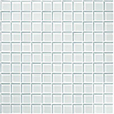Mosaico Cristal Blanco Cara Única 30x30 centímetros