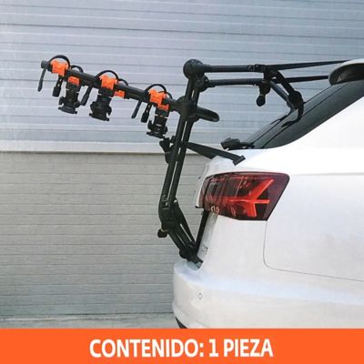 Portabicicleta Trasero 3 Bicicletas Anti Sway