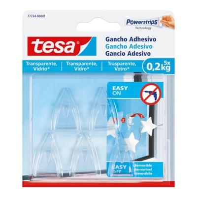 Gancho Adhesivo Deco Transparente 0.2Kg x 5 Und.