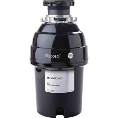 Triturador de Desperdicios 1HP 3500RPM Negro GE - GFC1020V