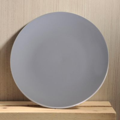 Plato Ensalada Solido Grey Crush
