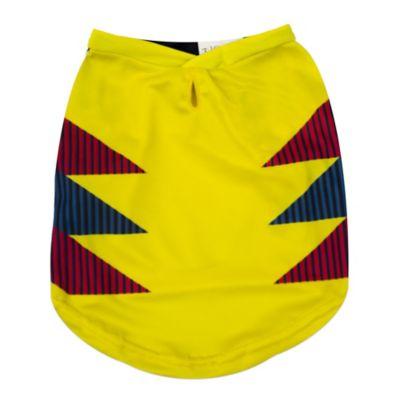 Camiseta Deportiva #10 Amarillo