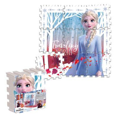Tapete Mágico Frozen  Elsa 31.5x31.5 cm