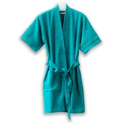 Bata Baño Dama 92 cm Azul Captus