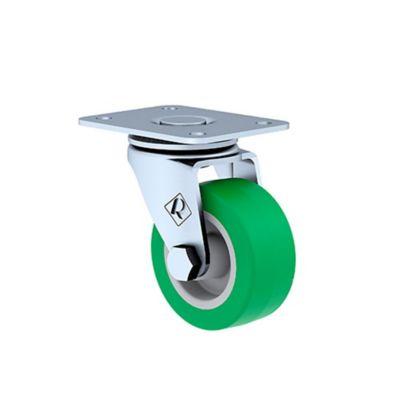 Rueda Rodaja de Hule Termoplast 2 Pulg Verde