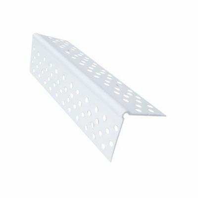 Angulo Esquinero Protector de 90° Estriado Blanco x 3,05 Mts x 100 Unidades