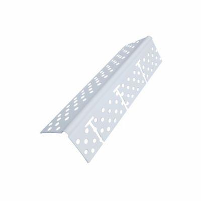 Angulo Esquinero Protector de 90° Estriado Blanco x 2,44 Mts x 100 Unidades