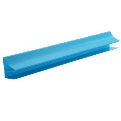 Accesorio Perfil Perimetral Corniza PVC 10 mm x 4 Mts Azul Pastel x 50 Unidades