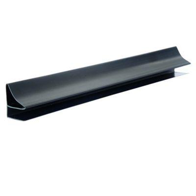 Accesorio Perfil Perimetral Corniza PVC 10 mm x 5 Mts Negro x 50 Unidades