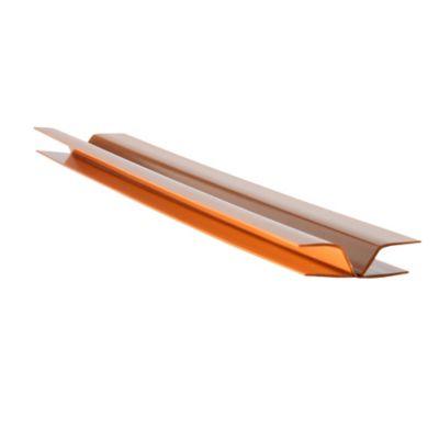 Perfil Union Angular PVC 10 mm x 3 Mts Madera Claro x 50 Unidades