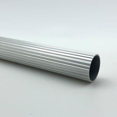 Tubo Ranurado 25 mm x 200 cm Cromado