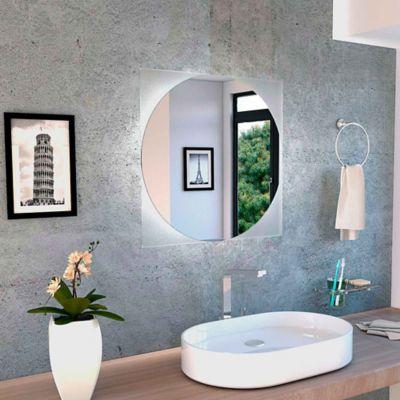 Espejo de baño Salerno reflekta 600x600x4 milímetros