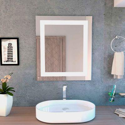 Espejo de baño torino reflekta 650x750x4 milímetros