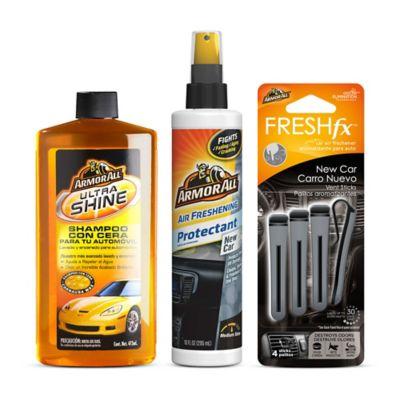 Set Shampoo 473 ml + Protector 296 ml + Ambientador Carro Nuevo