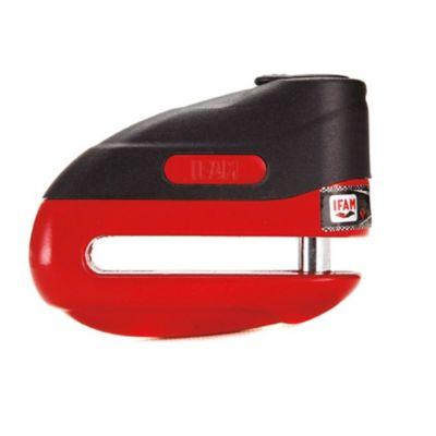 Antirobo de Disco Road 75R Rojo con 3 Llaves Tubulares y Protector Antipolvo con Funda y Cable