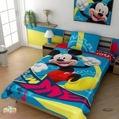 Cobija Rashel Estampada 160x220 cm Mickey Mouse