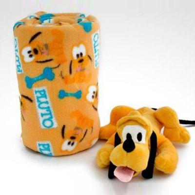 Cobija 90x110 cm + Peluche 27 cm Pluto