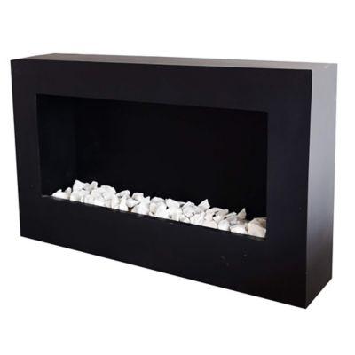 Mueble Tipo Cuadro en Hierro - Acero 90x56x20 cm Negro