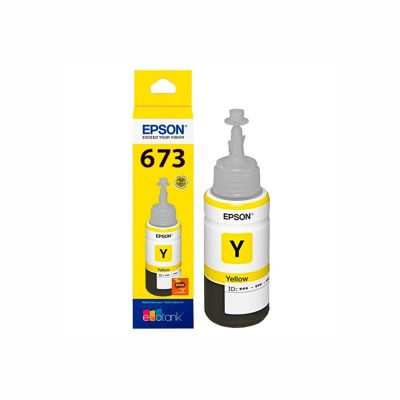 Botella de Tinta Amarilla