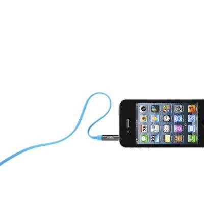 Cable Estereo Plano90CM Azul AV10127tt03-BLU