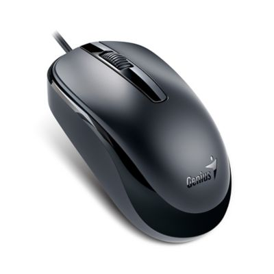 Mouse USB DX-120 Negro 1200 DPI Óptico