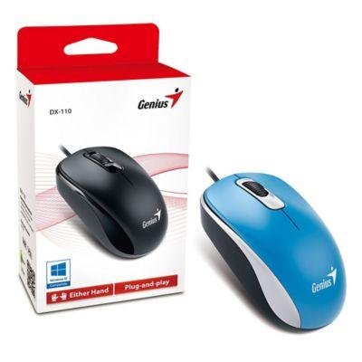 Mouse Óptico USB DX-110 Azul
