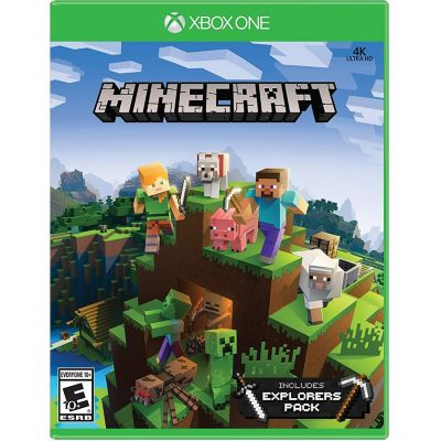 Juego Xbox One 4K Minecraft Explore Pack