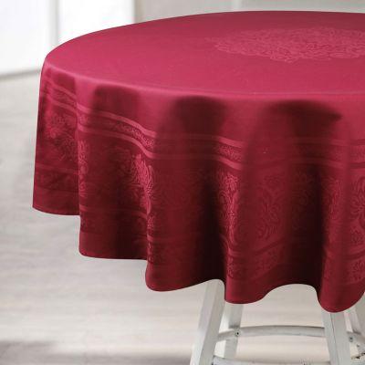 Mantel Algodon 180x180cm Rojo