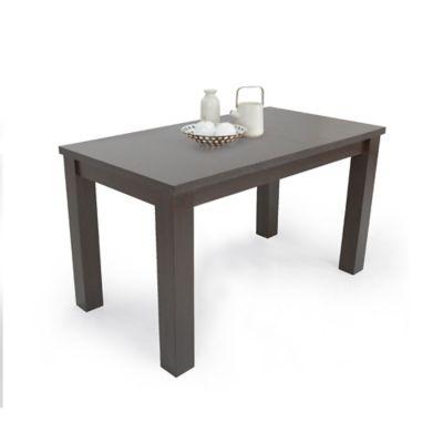 Mesa para Comedor Mérida 4 Puestos 78x120x80cm Wengue