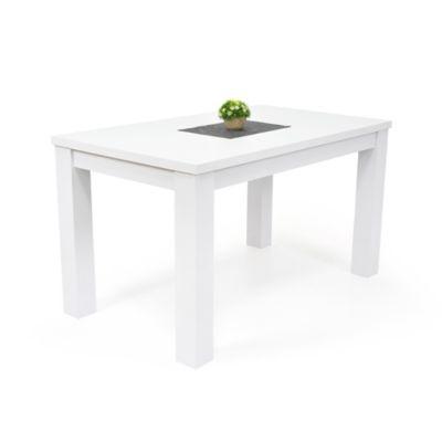 Mesa para Comedor Mérida 6 Puestos 78x138x80cm Blanco